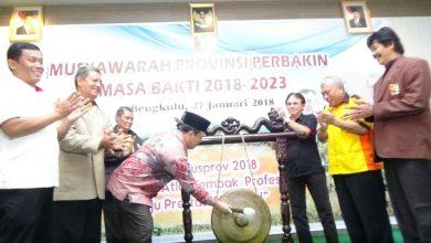 Photo of Seluruh Organisasi di Bengkulu Diharapkan Bisa Mandiri