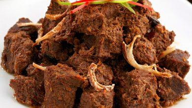 Resep Rendang Daging Padang Berikut daftar 50 Makanan Terenak Sedunia