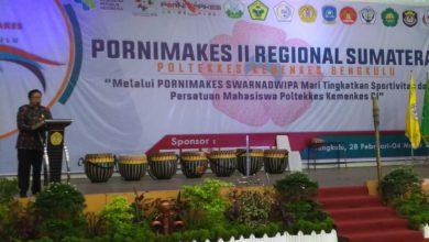 Photo of Pembukaan Pornimakes II Regional Sumatera Penuh Kemeriahan