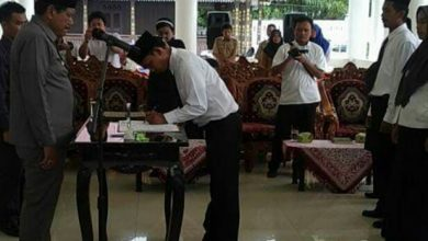 Photo of Lantik PAW Kepala Desa dan Anggota BPD, Mian Banyak Berpesan