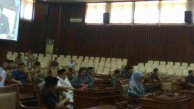 Photo of Paripurna ke 3 Masa Sidang Kedua, DPRD Provinsi Bengkulu Setujui 1 Raperda