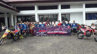 Photo of Rider Honda CRF 150 L Jelajahi Alam Seluma