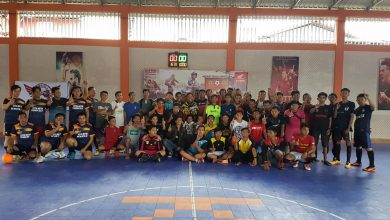 Photo of Pererat Silaturahmi Komunitas Honda dengan Ketupat Futsal