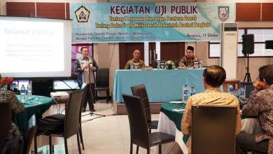 Photo of Universitas BengkuluGelar Uji Publik Raperda BUMD