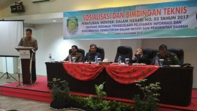 Photo of Sosialisasi dan Bimtek Dinas Kominfo Berjalan Khidmat