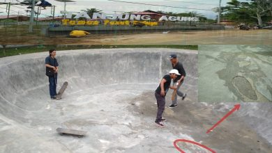 Photo of Belum 100 Persen Rampung, Sebagian Taman Tanjung Agung Rusak