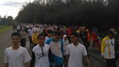Photo of Sukses, 50 Ribu Peserta Ikuti Jalan Santai MRSF