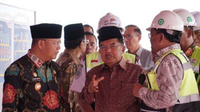 Photo of Jusuf Kalla Apresiasi, Pulau Baai Menuju Integrated Port