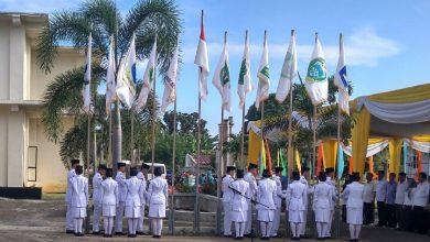 Photo of Pemerintah Provinsi Bengkulu Gelar Upacara Pengibaran Bendera Kontingen