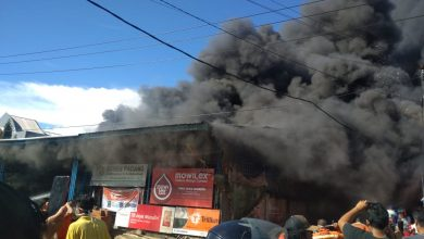 Photo of Turunkan 14 Unit Damkar dan 2 Unit Water Canon, Api Belum Bisa Padam