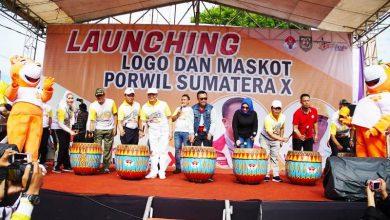 lounching Launching Maskot PORWIL Sumatera X, Menpora Ikut Jalan Sehat