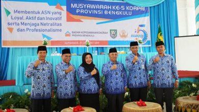 Photo of Musyawarah KORPRI k -5 Provinsi Bengkulu, Sekda: ASN Harus Loyal pada Institusi