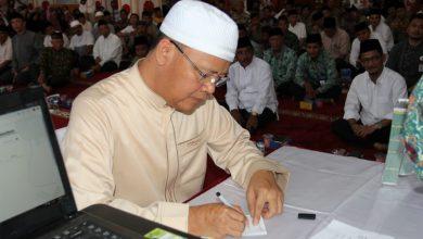 Photo of Rohidin Launching Ketauladan Berzakat