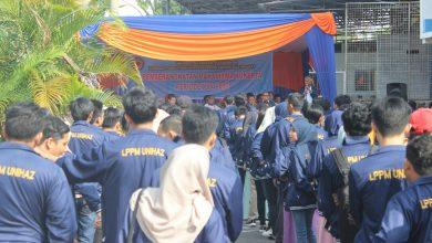 Photo of Rektor Unihaz Lepas 455 Mahasiswa Berangkat Kukerta