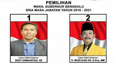 Photo of Wagub Bengkulu, Dedy atau Muslihan?