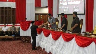 Photo of Paripurna Penyampaian Nota Keuangan Gubernur Tentang Raperda Belanja Daerah