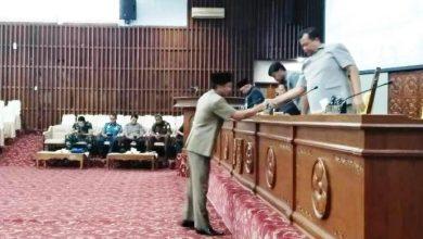 Photo of Padangan Umum Fraksi Terhadap Raperda RUED