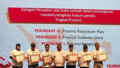 Photo of Lagi, KPU Provinsi Bengkulu Sabet 2 Kategori Penghargaan