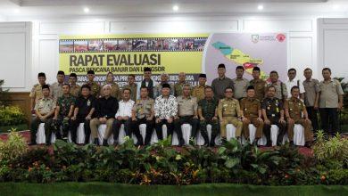 Photo of Gubernur Pimpin Rapat Evaluasi Pasca Bencana Banjir dan Tanah Longsor