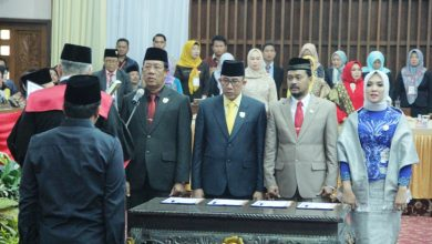 Photo of Pimpinan Definitif DPRD Provinsi Bengkulu  Resmi Dilantik