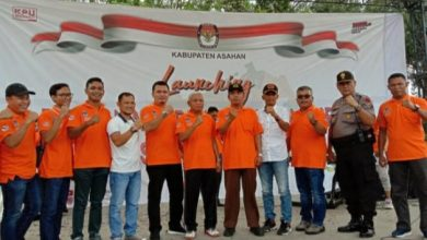 Photo of Launching Pilkada, KPU Asahan Siap Sukseskan Pilkada 2020