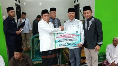IMG 20191213 200526 Gubernur Serahkan CSR Bank Bengkulu ke Mesjid Syuhada Lingkar Timur