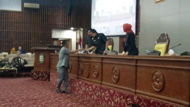 Photo of DPRD Provinsi Bengkulu Terima Usulan Gubernur atas Tiga Raperda