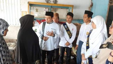 Photo of Diwarnai Haru, Wawali Serahkan Bantuan dari (GPS) ke Hanizar Simanjuntak