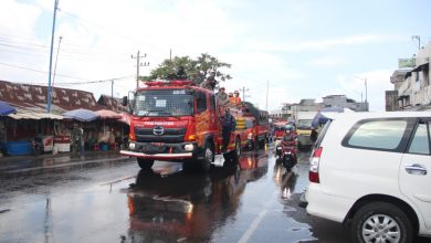 Photo of Mencegah Covid-19 Masuk Bengkulu, Pemerintah dan  FKPD Melakukan Penyemprotan Disenfektan Massal