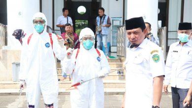 Photo of Cepat Tanggap, Pemkot Bengkulu Semprot Disinfektan ke Rumah Ibadah