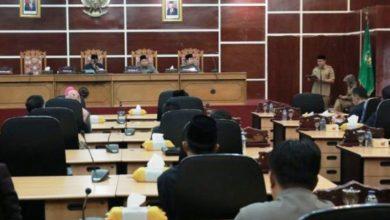 Photo of Paripurna, DPRD Kota Bengkulu Bahas 22 Raperda
