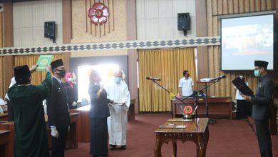 Photo of Ditengah Pendemi Covid-19,  62 Pejabat Fungsional Pemprov dilantik