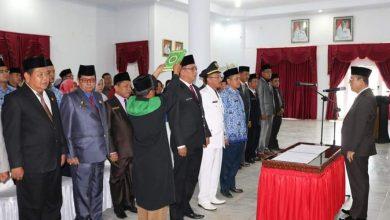 Photo of Tingkatkan Kinerja, Bupati Lantik 31 Pejabat Seluma