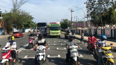 """Photo of """"Stop Line Jaga Jarak"""", Inovasi Pemkot Dan Polres Ditengah Adaptasi Kebiasaan Baru"""