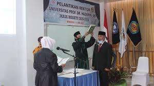 Photo of Dilantik Kembali Sebagai Rektor, Yulfiperius: Unihaz Akan Beradaptasi dan Berinovasi