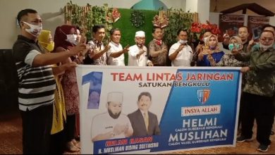 Photo of Ketua Tim Lintas Jaringan Silaturahim dengan Cawagub Muslihan