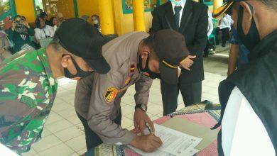 Photo of Pengukuhan Pokdarkamtibmas Bhayangkara Provinsi Bengkulu, Dengan Tetap Patuhi Prokes
