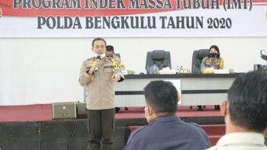 Photo of Terapkan Pola Hidup Sehat, Polda Bengkulu Resmikan Program IMB