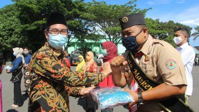 Photo of Sinergi Penguatan Siaga Darurat Bencana, Kemenko PKM Salurkan 30 Ribu Masker