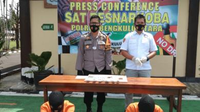 Photo of Upaya Pemberantasan Narkotika,  Sat Res Narkoba Polres BU Sita 16 Paket Ganja