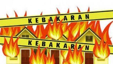 Photo of Diduga Akibat Konslenting Listrik, Gudang PT. MAS Terbakar