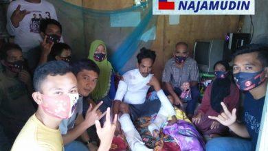 Photo of Agusrin Peduli Nazirwan Korban Tersengat Listrik Kabel Tiga
