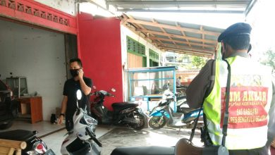 Photo of Ops Yustisi Aman Nusa Polres BS Tegur 2 Warga Tidak Patuh Prokes