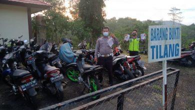 Photo of Sering Terjadi Balap Liar, Polres Kepahiang Amankan 5 Unit Sepeda Motor