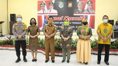 Photo of Kenal Pamit Kapolres Bengkulu Tengah Berganti
