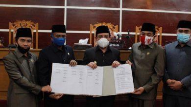 Photo of 2 Raperda Disetujui Oleh DPRD Kota Bengkulu