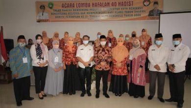 Photo of Perayaan HUT ke-21 DWP Kota Bengkulu Adakan Lomba Hapalan Hadis