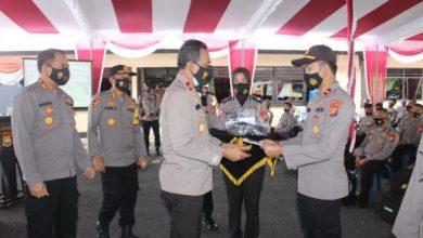 Photo of Wakapolda Bengkulu Kunker ke Polres BS, Serahkan APD Untuk Pam Pilkada
