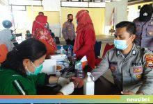 Photo of Cek Kesehatan Personil Pengamanan TPS, Polres Benteng Lakukan Rapid Tes