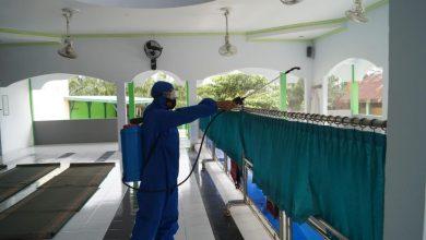 Photo of Menekan Peningkatan Covid-19, Satuan Brimob Polda Bengkulu Lakukan Penyemprotan Cairan Disinfektan